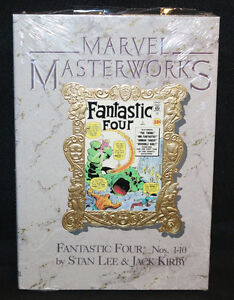 Marvel Masterworks Vol 2 Fantastic Four #1-10 Hardcover Sealed