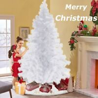 7Ft Artificial PVC Christmas Tree W/Stand Holiday Season Home/Outdoors White