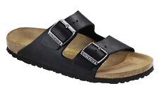 Birkenstock Arizona Nubuck Leather Oiled Unisex Shoes Slides Sandals