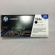 HP Laserjet 124A Black Printer Toner Cartridge NEW Sealed Q6000A CM1015 1600 etc