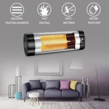 1500W Infrared Space Electric Wall-Mounted Patio Heater home heating Warm Remote