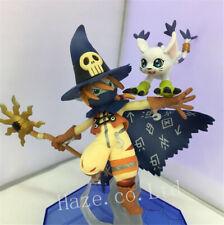 Anime Digimon Adventure Wizarmon Tailmon Figure Toy Collection New