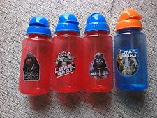 Zak Design Disney Star Wars 4 Piece Bottle Mealtime Dinner Set BPA Free