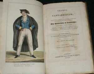 Cambridgeshire: 1824, Gradus ad Cantabrigiam. Illustrated