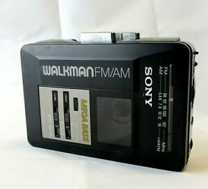 Sony Walkman WM-BF44 Mega Bass Cassette Tape Player Radio Retro Vintage