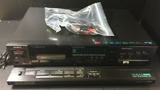 Vintage Aiwa Stereo Cassette Deck R650 Model No. AD-R650H In Original Box Excell