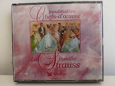 CD ALBUM Inoubiables chefs d oeuvre La famille Strauss READER'S DIGEST G93001