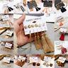 16 Pcs Korean Style Tassel Crystal Ear Stud Dangle Hook Chic Women Earrings Set