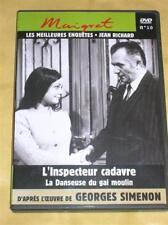 DVD MAIGRET N° 10 / SIMENON / JEAN RICHARD / NEUF SOUS CELLO