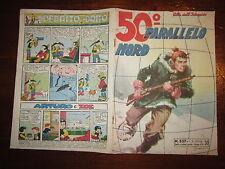 ALBI DELL'INTREPIDO N°537 DEL 1-5-1956 50° PARALLELO NORD
