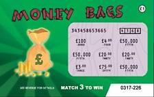 6 Fake Joke lottery scratch cards scratchcards (DESIGN 3)