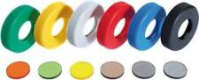 #508 Gehmann Colored push-on rings on Filters Set of 6