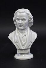 Porcelaine Buste Compositeur Beethoven blanc Wagner & Apel H15cm 9942534