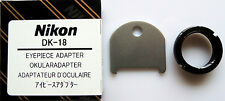 Nikon DK-18 Eyepiece Adapter for DG-2 and DR-5 Magnifier Genuine Nikon