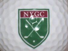 (1) NEW YORK GOLF COURSE LOGO GOLF BALL