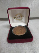 Mark Mcgwire St Louis Cardinals Home Run Highland Mint Bronze Medallion Coin