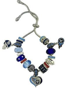 TENNESSEE TITANS Charm Bracelet