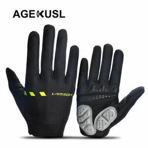 Cycling Gloves Short Full Finger Gloves MTB Road Bike Shockproof 5mm Padded