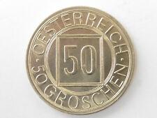 L1013      ÖSTERREICH 50 Groschen 1934 selten !!! Erhaltung !!!