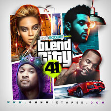 DJ TY BOOGIE - BLEND CITY 41 (MIX CD) HIP-HOP AND R&B BLENDS/ REMIXES