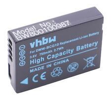 Akku für Panasonic Lumix DMC-3D1, DMC-TZ10, DMC-TZ18 750mAh 3.6V Li-Ion