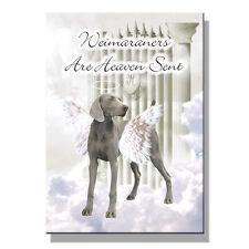 Weimaraner Heaven Sent Fridge Magnet No 1 Pet Loss