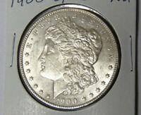 AU 1900-O/CC Morgan Silver Dollar About Uncirculated New Orleans Mint (82719)