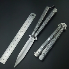 New Butterfly in Knife Pocket Practice knifes Survival Folding knives No Edge