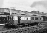 PHOTO LNER London&North Eastern Railway Sentinel Steam Railcar 51914 at Hitchin