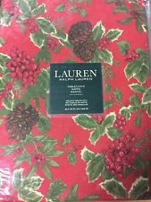 Ralph Lauren Birchmont Table Cloth Christmas 60x120