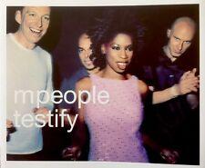 M People - Testify (CD 1998) Radio Edit/Angel St - Live/Last Night - Live