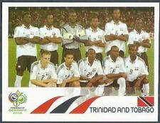 PANINI FIFA WORLD CUP-GERMANY 2006- #131-TRINIDAD & TOBAGO TEAM PHOTO