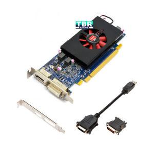 AMD Radeon HD 7570 1GB GDDR5 Long Profile PCI E Video Graphics Card Dell DVI DP