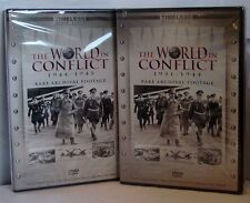 """New """"WWII the World in Conflict 1931-44/ 1944-45 Rare Archival Footage (DVD set)"""