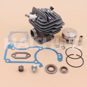 Big Bore Cylinder Piston Kit For Stihl 026 MS260 026PRO Chainsaw 44.7mm -Nikasil
