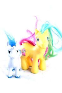 My Little Pony 2006 Figures Lot of 2 Shining Armor & Pretty Pop Hasbro