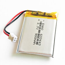 900mAh 3.7V Lipo rechargeable Battery Cells for Speaker MP4 GPS 603443 JST 2.0mm