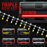 "60"" Tailgate LED Strip Bar Truck Stop Brake Turn Signal Tail Light 1/2/3 Row BS"