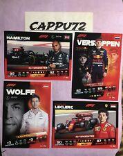 F1 TURBO ATTAX CARDS BASE MANCOLISTA-TOPPS CARDS FORMULA 1 2021