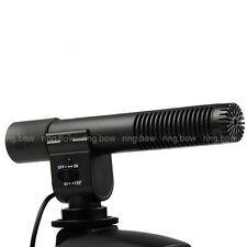 SG-108 3.5mm Stereo Microphone for DSLR Camera Nikon Canon JVC DV Camcorder