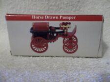 NEW 2000 Reader's Digest Fire Engine Horse Drawn Pumper