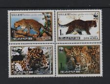 WWF 1998 THE LEOPARD  *VF MINT NEVER HINGED BLOCK 4*