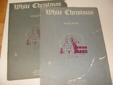 White Christmas Irving Berlin silver cover