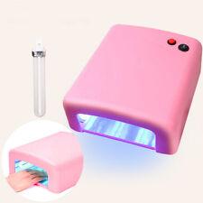 Nail Lamp 36W 4 Tube Bulbs UV Nail Lamp Dryer Gel Curing Art Gelish Timer with