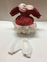 Antique/Vintage Style 2 pc Vintage Child Style Doll Dress Fashion