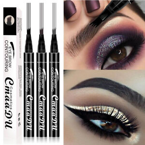 4 Head CmaaDu Liquid Eye-Brow Pen Contouring/Microblading Longlasting Waterproof