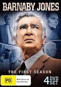 Barnaby Jones : Season 1 DVD New Sealed Genuine Region 0
