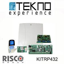 Kit antifurto con centrale  8-32zone ,tastiera ,modulo GSM e modulo vocale RISCO