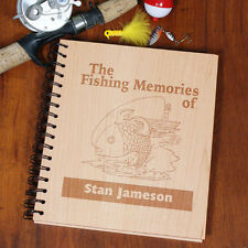 Personalized Fishing Memories Photo Album Father's Day Dad Gift Fishing  Album
