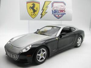 1/18 Hot Wheels Ferrari 612 Scaglietti 2004 Black&Silver (no Kyosho, no Elite)